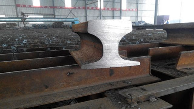 crane rail profile