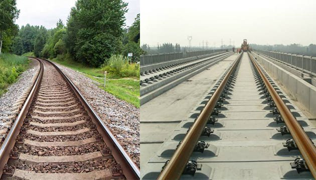 ballasted-and-ballastless-railway-track