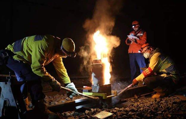 thermite-welding-for-railroad-track