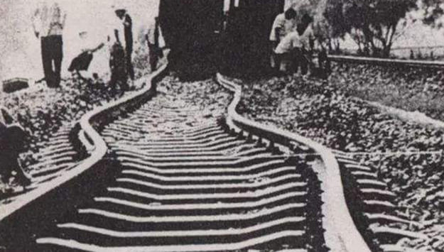 buckled-railway-track