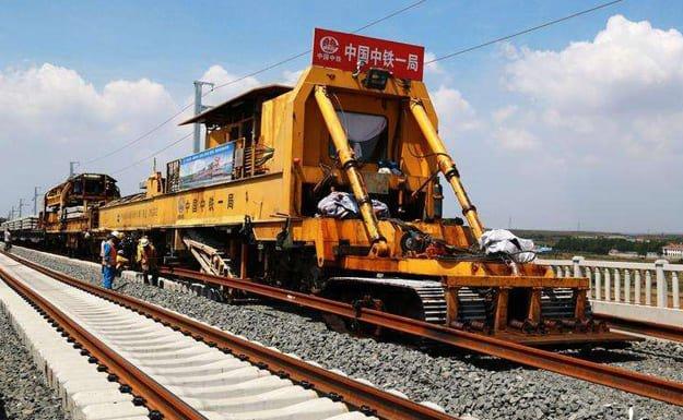 railway-track-construction process