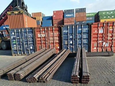 12kg light rail shipped to Egypt