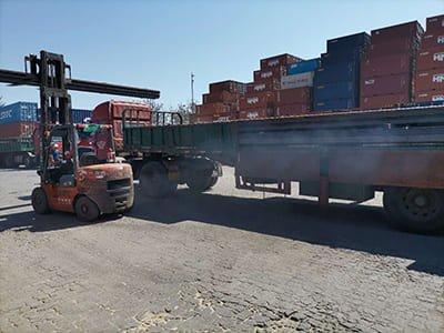 A75 rail shipped to Vietnam