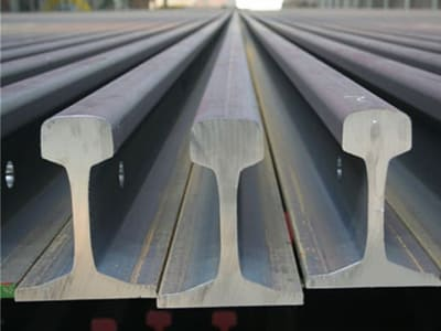 track material-new railroad rails